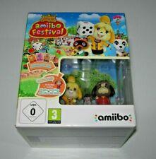 Animal Crossing: Amiibo Festival + 2 amiibo Wii U (PAL EU precintado)