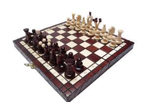 "Nuevo ajedrez de madera ""Atenea""."