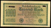 ALLEMAGNE  1000  mark 1922   ( Billets très bons état numéro aléatoire )