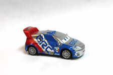 DISNEY PIXAR CARS 2 LOOSE RAOUL SILVER WITHOUT THE STORE PACKAGE