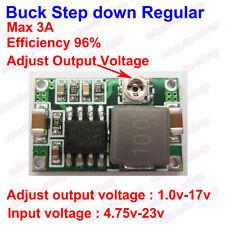 DC-DC Buck Step-down Converter 4.75V~23V to 1V-17V 3A Mini360 Model Power supply