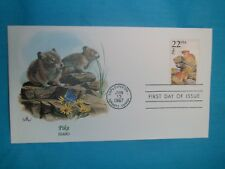 "US 1987 FDC Collection '"" Wildlife of the 50 States "" Idaho~Pika"