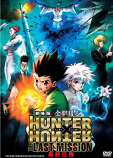 DVD ANIME HUNTER X HUNTER The Movie: The Last Mission English SUbs + FREE DVD