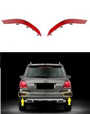 GENUINE OEM MERCEDES GLK CLASS X204 FACELIFT Rear Bumper Reflector SET L+R