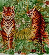 Salvatore Ferragamo authentic cashmere blend scarf large NEW exotic animal print