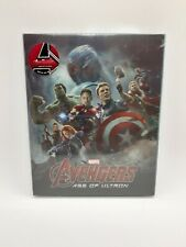Avengers Age Of Ultron (NOVAMEDIA) Excl. Full Slip Steelbook (Ltd Ed) ***HTF***