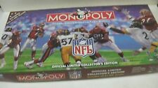 Monopoly NFL Board Game Collector's Edition 1998 From Parker Brothers      gm290