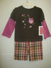 2T 3T NEW W//T FISHER-PRICE GIRLS  FRIENDS FOREVER PANTS OUTFIT 12M 4T 18M