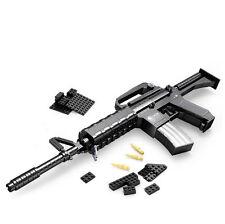 Learning Education  Blocks Guns Model Building Toys 524 Pcs Bricks M16 / Puzzles
