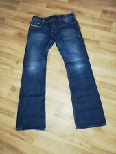 🇮🇹MENS DIESEL ZATINY 74W  BOOTCUT JEANS W31 L32 GREAT FADES ON THESE 🇮🇹