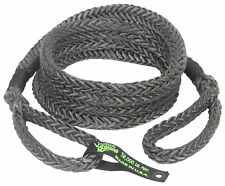 7/8 x 30 Voodoo Offroad BLACK RECOVERY ROPE 38,000 lb 38% stretch KINETIC ENERGY