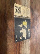 1 gram Gold Bar - Karatbars International - 999.9 Fine HOLOGRAM SEAL ON CARD