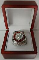 Jonathan Toews - 2013 Chicago Blackhawks Stanley Cup Hockey Ring WITH Wooden Box