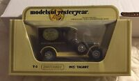 "MATCHBOX 1978 LESNEY ENGLAND ""MODELS OF YESTERYEAR"" 1927 TALBOT - WRIGHT'S SOAP"