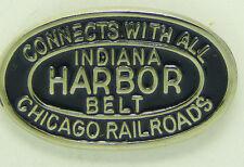 Railroad Hat-Lapel Pin/Tac -Indiana Harbor Belt RR (IHB)   #1700 -NEW