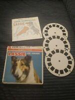 Viewmaster Lassie Look Homeward Dog 3 Reels Booklet