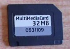 GENUINE ORIGINAL NOKIA FORMATTED 32MB MULTI MEDIA MEMORY CARD FOR 7610 N70 ETC