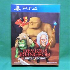 Devious Dungeon Limited Edition (PlayStation 4, PS4) *Factory Sealed* 1000 Made