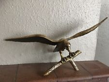 Stunning Large Solid Brass Eagle