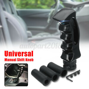 Pistol Handle Grip Manual Car Gear Shift Knob Shifter Lever Black Universal AU