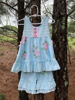 NEW Boutique Girls Clothing Sets Summer 2T,3T,4T,5/6,6/7,7/8