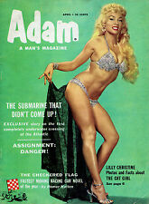 Adam, A Man's Magazine Vol.2 N°2- Lilly Christine - Eds. Fawcett - Avril 1954