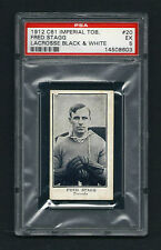 PSA 5 1912 C61 LaCROSSE CARD #20 FRED STAGG