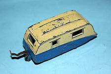 Dinky Toys 2 Tone Towing Caravan Blue/Cream # 190 R/P !!!