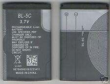 NEW BATTERY FOR NOKIA BL5C 3620,3650,3660,6030,6108   USA SELLER