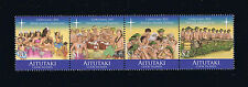 Aitutaki 2011 Twelve Days of Christmas Issue Stamp Strip