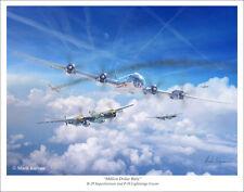 """B-29 Superfortress Aviation Art Print - 11"""" x 14"""""""