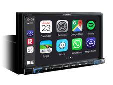 "Alpine iLX-702D 7"" Digital Media Station, featuring Apple CarPlay and Android Au"