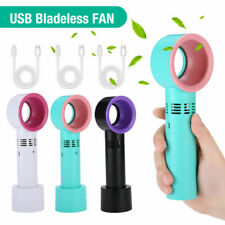 More details for portable bladeless cooling fan durable safety leafless lightweight air flow 2022