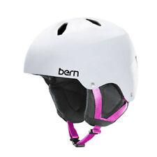 Bern White Ski & Snowboard Helmets