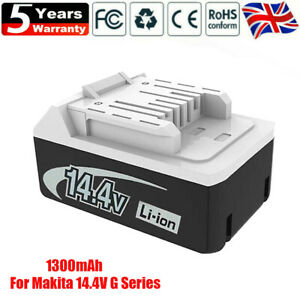 For Original Makita Battery BL1413G BL1415G HP347D DF347D JV143D 14.4V 1.3Ah UK