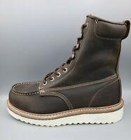 """Wolverine Men's 8"""" Loader ST. Welt Brown Boots Size 11.5"""
