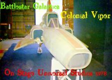 BATTLESTAR GALACTICA--COLONIAL VIPER On-Stage 1978 UNIVERSAL 4 PIC SET Reduced!