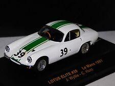 LOTUS ELITE #39 LE MANS 1961 IXO LMC075 1/43