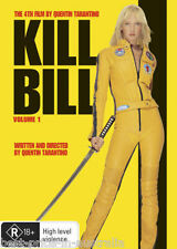 KILL BILL: Volume 1 DVD Quentin Tarantino TOP 250 MOVIES Uma Thurman R4