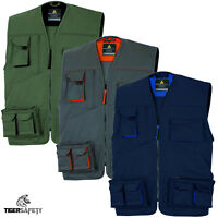 Delta Plus Panoply M2GI2 Mach 2 Mens Multi Pocket Work Vest Tool Vest Jacket