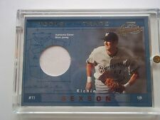 Richie Sexson 2001 Playoff Absolute Tools of the Trade Jrsy #TT-8 Serial#113/300