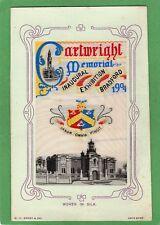 More details for cartwright memorial bradford exhibition 1904 woven silk pc w h grant ref m101