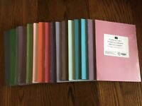 Stampin' Up! 8-1/2 x 11 Inch Cardstock - RETIRED COLORS - CHOOSE 1 - NIP