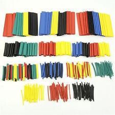 328 Pcs 5 Colors 8 Sizes Assorted 21 Heat Shrink Tubing Wrap Sleeve Kit Topaa