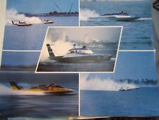 """Atlas Van Lines & Unlimited Hydroplane Collage ~ 20"""" x 16"""" Poster"""