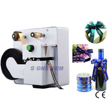 Desktop Digital Ribbon Printer Hot Foil Printing Machine Stamping 32mm