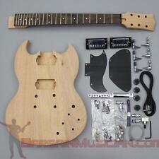 Bargain Musician - GK-004 - DIY Unfinished Project Luthier Guitar Kit