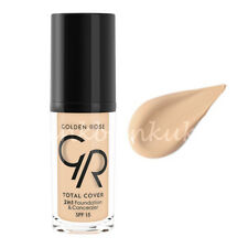 Golden Rose TOTAL COVER 2in1 Foundation & Concealer Full Covearge ** SALE **