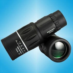 16x52 Monocular Telescope HD Dual Focus Zoom Optic Lens Hunting Camping Sport