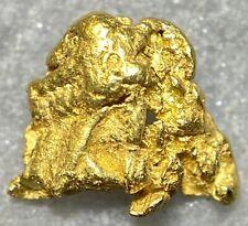 Beautiful Alaskan Natural Placer Gold Nugget .200 grams Free Shipping! #D785